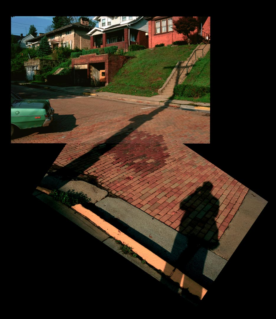 """Self-Portrait, Shadow with Passing Car"" 1989"