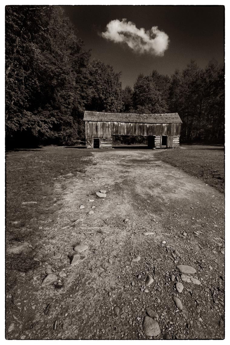 Carriage Barn, Cades Cove, Smoky Mountain National Park, 2013
